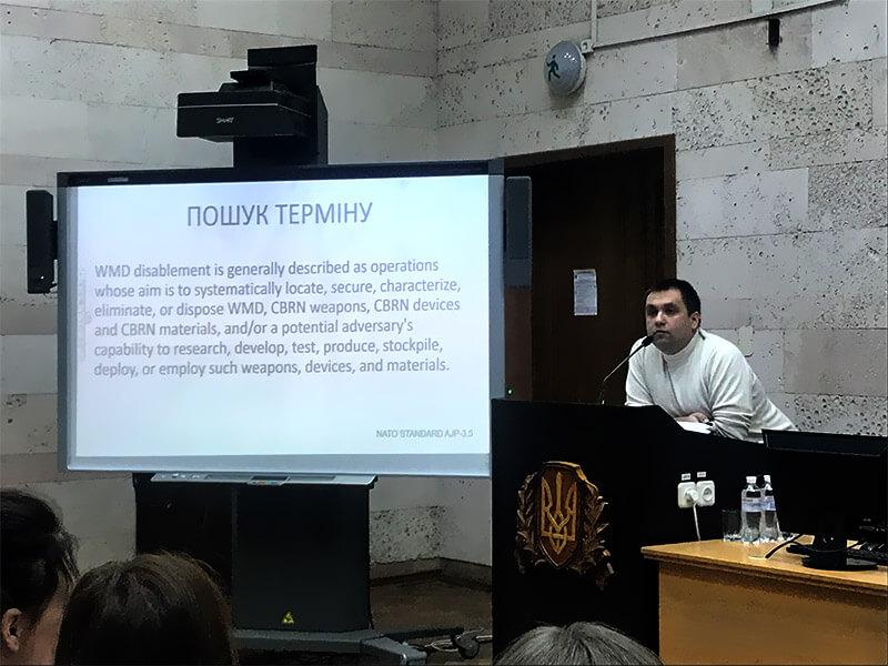 Андрій Ляшенко, «Особливості письмового перекладу текстів військової тематики»